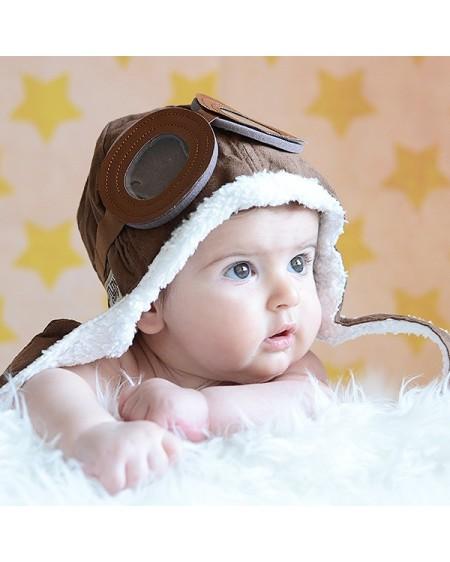 Gorro aviador para bebé