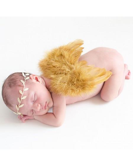 Alas doradas para bebe