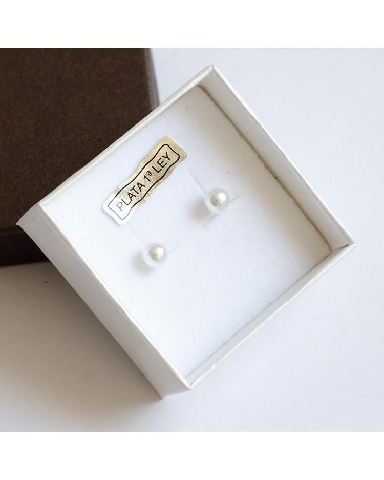 Pendientes bebé perlas