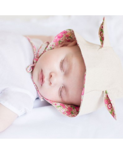 Capota con orejitas para bebe
