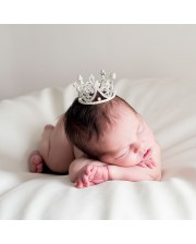 """Corona tiara """"Elisabeth"""" de brillantes para beb"""