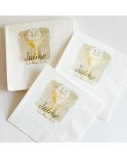 60 servilletas personalizadas de Comuni