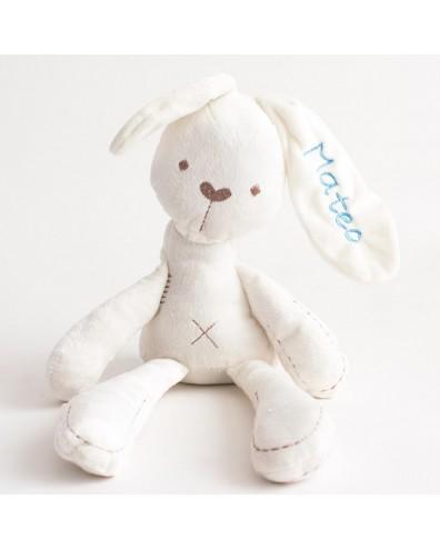 Peluche con nombre Conejo bunny bordado con nombre