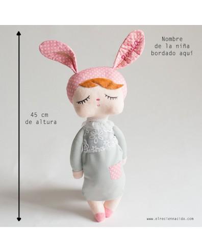 Muñeca de trapo Metoo Angela PERSONALIZADA