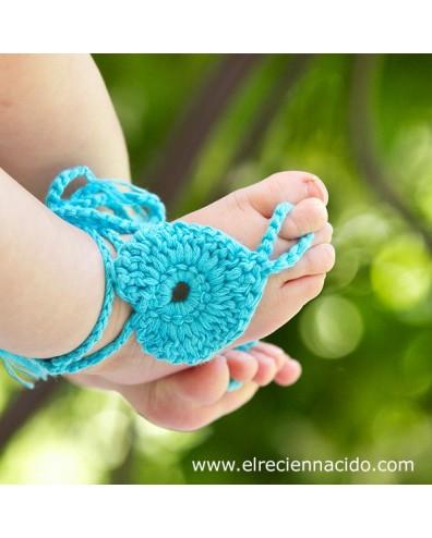 Sandalias dedo para bebe