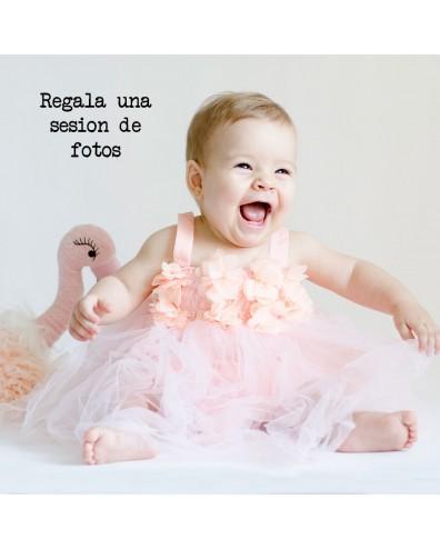 Regalo bautizo Sesión de fotos del bebé
