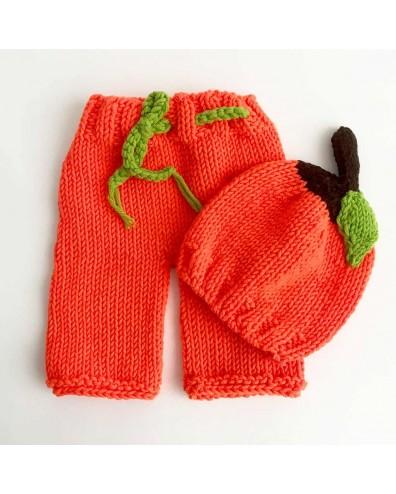 Conjunto crochet bebe. Disfraz halloween