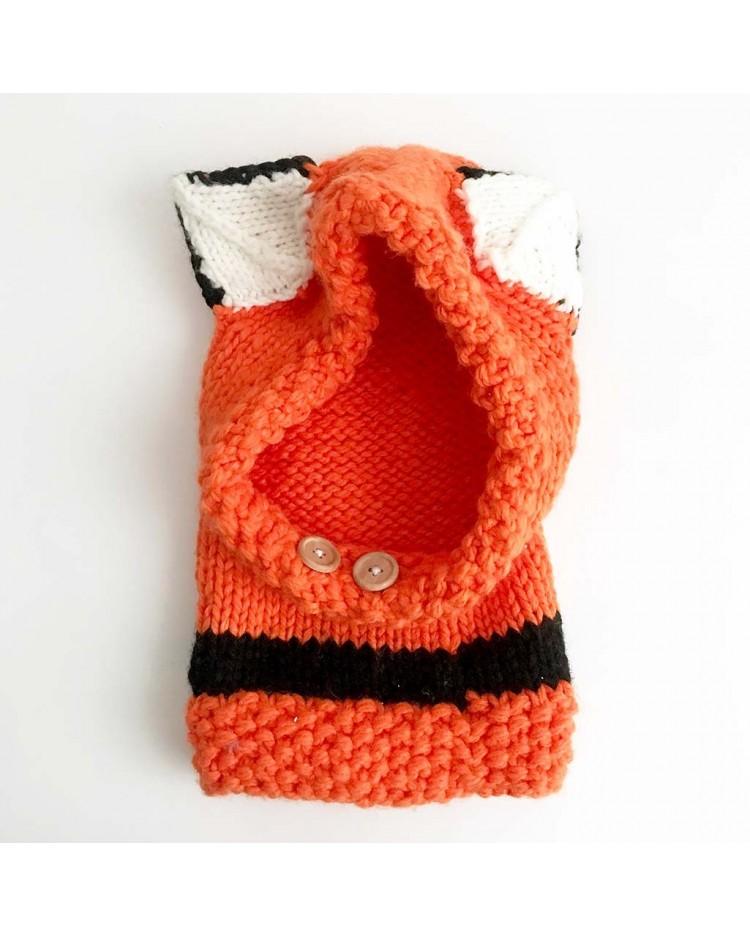 Gorro crochet zorro