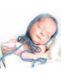 Gorros mohair para recién nacidos y bebés