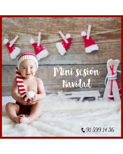 Mini sesión Navidad para bebe