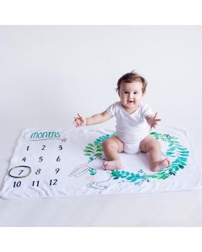 Manta para hacer fotos al bebé