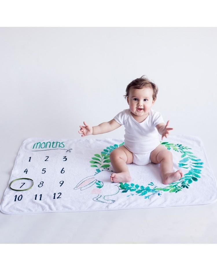 Manta para hacer fotos al beb
