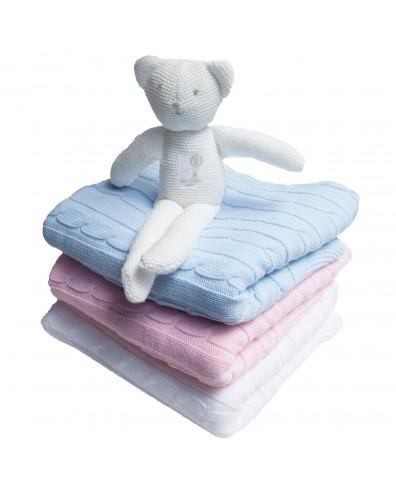 Toquilla bebé personalizada con nombre en 3 colores