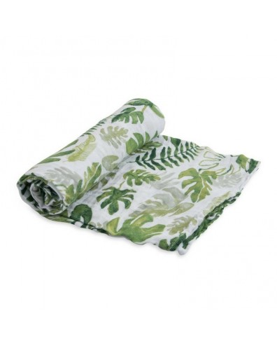 Muselina bebé algodón Tropical