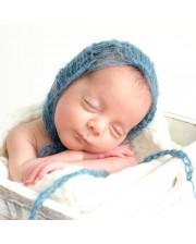 Gorros mohair para recién nacidos