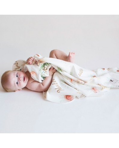 manta personalizada bebe
