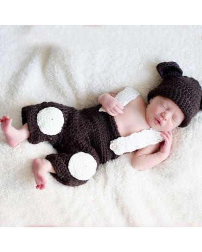 Conjunto de crochet bebe...