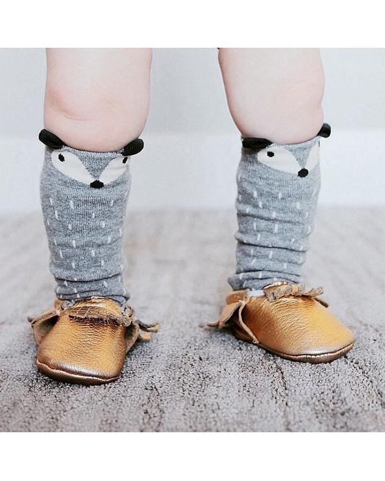 Calcetines zorro para bebé