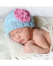 Gorrito de punto para beb