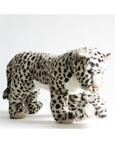 Peluche leopardo con cría