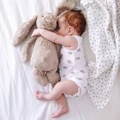 Buenas noches a todos.😘. . #conejodepeluche #elreciennacido #regalosbebe