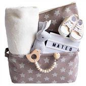 Canastillas personalizadas para bebés. . www.elreciennacido.com . . #regalosbebe #canastillabebe #cestasbebe #elreciennacido