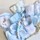 Canastillas a medida y personalizadas, únicas para cada bebé! Y además entregadas en 24 horas en toda España. Tienes algún nacimiento a la vista? #canastillabebe #canastillasbebe #regalosbebe
